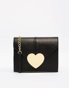 ASOS Love Heart Cross Body Bag