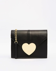 ASOS Love Heart Cross Body Bag