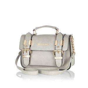 River Island Grey mini satchel