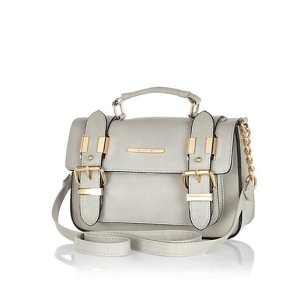 River Island Grey mini satchel