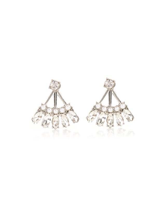 Style Alert – Front and Back Earrings