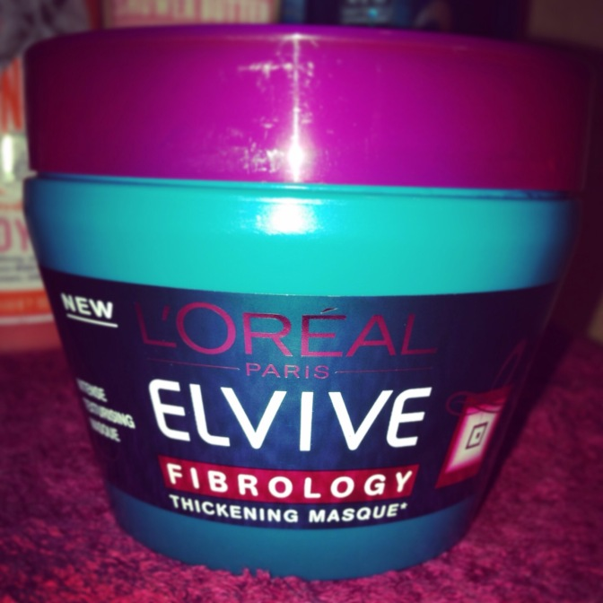 Product of the Week – L'Oréal Elvive Fibrology Thickening Masque