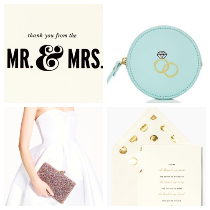 Wedded Wednesday – Kate Spade